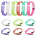 Jelly TPU Replacement Wrist Band Bracelet w/ Clasp For Fitbit Flex Large