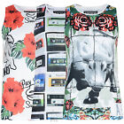 Mens Ascend Vest T Shirt Designer Graphic Picture Sleeveless Print Tee Tank Top