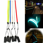 1M 3ft Neon Glowing Lights Strobing Ribbon El Tape for Clothes Decor Battery Box