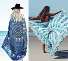 Sexy Women Pareo Sarong Beach Dresses Bikini Swimwear Cover Up Long Scarf Wrap