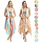 Swan Comfort Turkish Cotton Women's Swimwear Bikini Hooded Cover-Up Beach Dress
