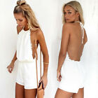 Women Summer Bodysuit Backless Playsuit Bodycon Rompers Clubwear Party Jumpsuit