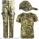 BOYS ARMY OUTFIT KIDS TROUSERS T-SHIRT CAP BTP CAMO FANCY DRESS COSTUME MILITARY