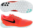 Nike Free 5.0 Ladies Running Shoes - Orange