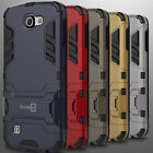 Tough Protective Kickstand Hybrid Armor Slim Phone Cover Case for LG K4 / Spree