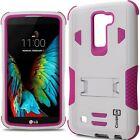 CoverON for LG K10 / Premier LTE Hybrid Case Armor Shockproof Tough Phone Cover