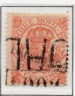 Spain Fiscal Timbre Movil 1882-1903 Early Issue Fine Used 10c. 060092