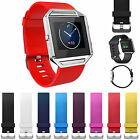 Sport Watch Silicone Rubber Band Strap Replace Watchband For Fitbit Blaze Watch