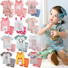 """44 Style"" Vaenait Bab​y Kids Girls Pajamas Short Sleepwear Clothes set 12M-7T"