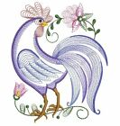 Embroidered 28x28 Flour Sack Kitchen Towel ROOSTERS HENS CHICKENS 10 Choices!