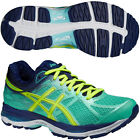 ASICS Gel Cumulus 17 Ladies Cushioned Running Sports Shoes Trainers Green