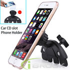 Rotatable Car CD Dash Slot Mount Magnetic Holder for Smartphone GPS Universal