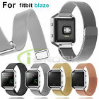 Milanese Magnetic Stainless Steel Watch Wrist Band Strap For Fitbit Blaze Watch