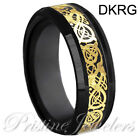 Tungsten Carbide Ring Comfort Fit Wedding Band Men Silver Gold Black Camo Celtic <br/> ✔LIFETIME WARRANTY ✔USA ✔HIGH QUALITY ✔FAST SHIPPING