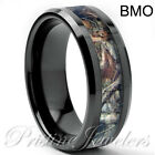 Tungsten Carbide Ring Comfort Fit Wedding Band Men Silver Gold Black Blue Celtic