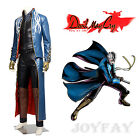 New Devil May Cry 5 Vergil Cosplay Costume Halloween Clothing - PU Leather