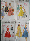 Butterick Sewing pattern Retro Vintage inspired 4 designs to choose from 1950's