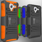 Kickstand Case Holster  Kyocera Hydro View /Hydro Reach /Hydro Shore Armor Cover