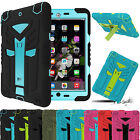 Hybrid Shockproof Defender Rubber Hard Case Cover For iPad 2/3/4 iPad Mini 1234