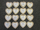 Wooden Heart Sentiment Plaques - 16 Different Designs & Sentiments! IDEAL GIFT!