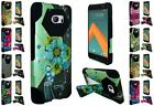 For HTC M10 Design Hybrid Dual Layer T Kickstand Cover Case