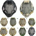 Airsoft Tactical Wargame Steel Mesh Full Face Mask Goggles Protection Guard FV