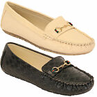 Ladies Womens Loafers Slip On Moccasins Shoes