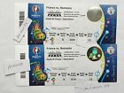 2 UEFA Euro Cup 2016 Tickets - Opening Match - CATEGORY 1 - France vs. Romania