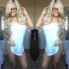 Plus Size Women's Summer Short Sleeve Cotton Shirt Loose Casual Blouse Tee Tops