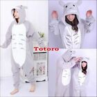 Unisex Adult Animal Onesies Onsie Kigurumi Pyjamas Sleepwear Onesie Dress Totoro