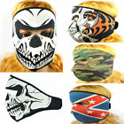 Skull Ghost Punk Top Motorcycle Full Face Nice Riding Men Mask Neoprene Biker j