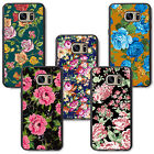 beatiful floral flowers girls lady woman for samsung rubber TPU case cover skin
