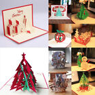 Variety Best Wish cards gifts Wedding Birthday Greeting Cards 3D Pop Up Card