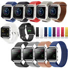 Silicone/Leather/Stainless Steel Wrist Band Strap Bracelet Fr Fitbit Blaze Watch