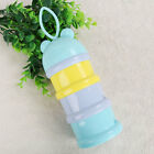 Baby kids travel colorful convenient safety milk powder box compartment