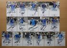 2015-16 Leicester City Signed Official Club Cards - Premier League Champions