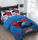 spiderman comforter sets - Marvel The Spiderman Webbed Wonder Twin Comforter Set with Fitted Sheet