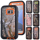 Realtree Camo Shockproof Case Cover For Samsung Galaxy S5 S6 S7 Edge Note 3 4 5