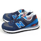 New Balance ML574UTA D Navy & Blue & White Classic Suede Lifestyle Shoes NB