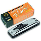 Seydel SESSION  Harmonica HIGH or LOW TUNED w  Black Leather Case! - Choose Key!
