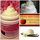 WHIPPED SOAP Luxurious bath, shaving cream, great lather - VANILLA TYPES  LIST