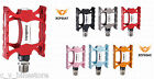 Xpedo TRAVERSE XCF02AC MTB CNC Pedals Black / Red / Gold / Blue / Pink XCF02