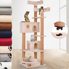 Cat Scratching Post Tree Furniture Bed Toy Scratcher Activity Centre Plush 166cm
