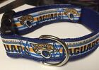 Handmade Jacksonville Jaguars nylon dog Collar $12.95 USD on eBay