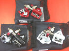 Wellgo QRD MG-8 MG8 Magnesium Body Road Pedals Black / Red / White / Gray
