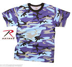 ELECTRIC BLUE CAMOUFLAGE T-SHIRT