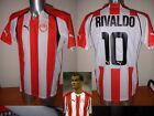 Olympiakos Jersey Rivaldo S-XL Shirt Football Soccer Puma BNWT Brazil Greece New