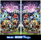 Ghost n Goblins Arcade Side Art Panel Stickers Graphics / Laminated All Sizes