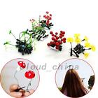 5pcs Flower Mushroom Plants Headwear Hairpin Hair Clip Accessory Ornaments Gift