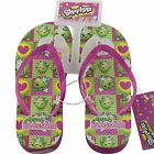 Shopkins Apple Blossom Wedge Sandals Flip Flops Beach Girls Shoes Size S M L